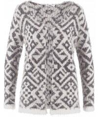 bpc bonprix collection Hebounký pletený kabátek, dlouhý rukáv bonprix