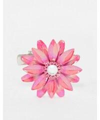 ASOS - Hübsche Blumenbrosche - Rosa