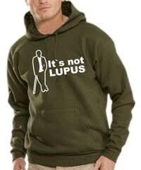Touchlines Herren Kapuzen Sweatshirt Dr House - Finally It`s Lupus