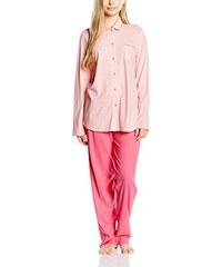 Calida Damen Zweiteiliger Schlafanzug Pyjama Early Flower, Gestreift