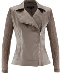 bpc selection Blazer avec manches en dentelle marron femme - bonprix