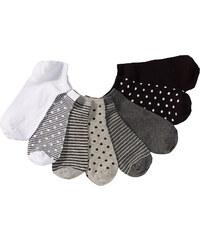 bpc bonprix collection Lot de 8 paires de socquettes gris lingerie - bonprix