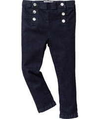 John Baner JEANSWEAR Jean skinny à boutons, T. 80-134 bleu enfant - bonprix