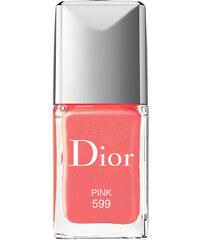 DIOR Č. 599 - Pink Rouge Dior Vernis Lak na nehty 10 ml