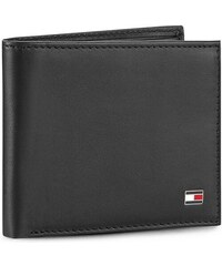 Malá pánská peněženka TOMMY HILFIGER - Eton Mini Cc Wallet AM0AM00655 Black 002