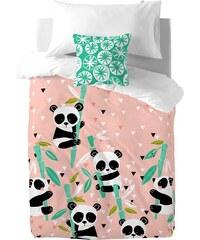 Moshi Moshi Dětské povlečení Panda Garden, 140x200 cm