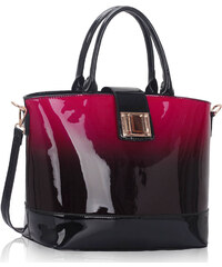 L&S Fashion (Anglie) Kabelka LS00329 červená (burgundy)