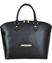 Kožená kabelka Pierre Cardin FRZ 1350 černá