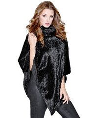 Guess Pončo Faux-Fur Cape