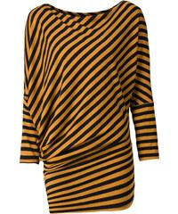 RAINBOW Shirt langarm in gelb (Rundhals) für Damen von bonprix