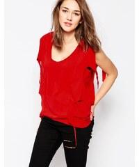 The Furies - Ragged Edge Dragon - T-shirt - Rouge