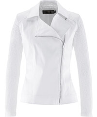bpc selection Blazer avec manches en dentelle blanc femme - bonprix