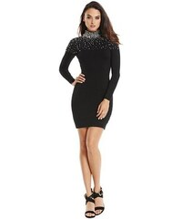 Guess by Marciano Šaty Ariane Beaded Sweater Dress