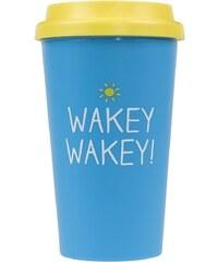 Cestovní hrnek Wakey Wakey Happy Jackson