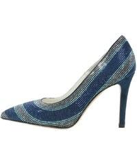Franco Russo Napoli High Heel Pumps blue