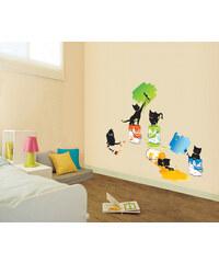 Ambiance Dekorační samolepky - Kočky malířky