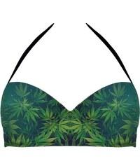 Mr. GUGU & Miss GO Pushup Halter Bikini Top