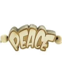Wood Fellas Necklace Peace