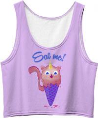 Mr. GUGU & Miss GO Crop Top Catscream