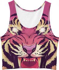 Mr. GUGU & Miss GO Crop Top Comic Tiger
