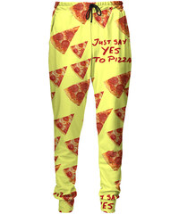 Mr. GUGU & Miss GO Sweatpants Yes To Pizza
