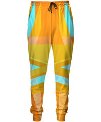 Mr. GUGU & Miss GO Sweatpants Yellow Abstract