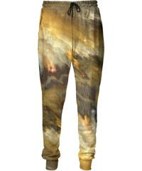 Mr. GUGU & Miss GO Sweatpants Yellow Nebula