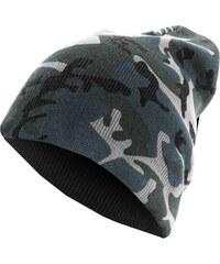 MD Beanie Camo Flap Grey Camo/Charcoal