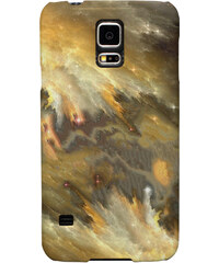 Mr. GUGU & Miss GO iPhone/Samsung Case Yellow Nebula