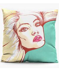 Mr. GUGU & Miss GO Pillow Pop Art.