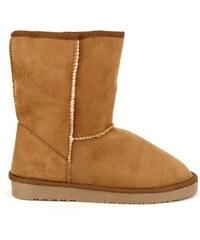 Boots Camel Fourée UGTA - Cendriyon