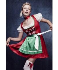 Kostým Vánoční šaty Velikost L 44-46