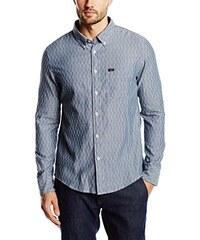 Lee Herren Regular Fit Freizeit Hemd Button Down