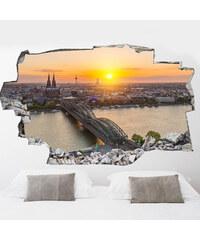 Lesara 3D-Vinyl-Wandsticker Köln