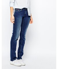 Hilfiger Denim - Suzzy - Jean droit taille mi-haute - Bleu