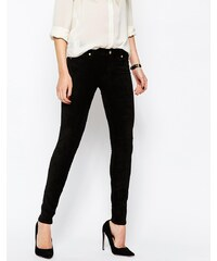 7 For All Mankind - The Sueded - Jean skinny - Noir - Noir