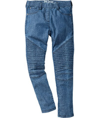 John Baner JEANSWEAR Jegging avec genoux matelassés, T. 116-170 bleu enfant - bonprix