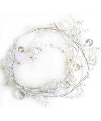 StarDeco Perly transparentní 180 cm