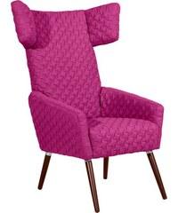 Hochlehner Stuhlsessel Elke mit gestepptem Bezug MAX WINZER 350 (=beige),351 (=creme),352 (=grau),353 (=petrol),355 (=oliv),360 (=schwarz),361 (=gelb),362 (=pflaume)