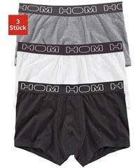 Hom Smart Cotton Boxer (3 Stück) mit Webbund und HOM-Schriftzug rundum HOM grau L (6),M (5),S (4),XL (7),XXL (8)