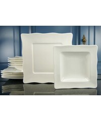 CreaTable Tafelservice Porzellan EVA (12tlg.) weiß