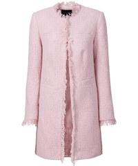 BODYFLIRT Longblazer in rosa für Damen von bonprix