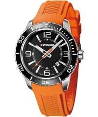 Wenger Roadster Herrenuhr Orange 01.0851.114