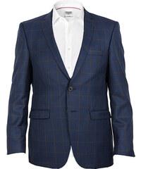 Edward Morris Sportovní pánské sako - modré, kostka