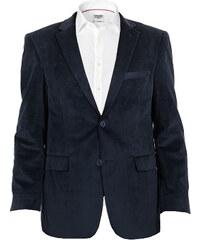 Edward Morris Sportovní pánské sako - tmavě modré, semiš