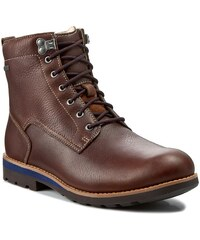 Trapperschuhe CLARKS - Padley Hi GTX 261097737 Tobacco Leather