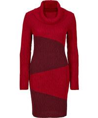 BODYFLIRT boutique Strickkleid in rot von bonprix