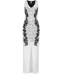 BODYFLIRT boutique Spitzenkleid in weiß von bonprix