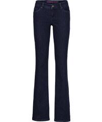 RAINBOW Bootcut Jeans, Kurz in blau für Damen von bonprix
