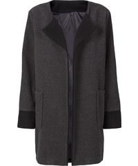 RAINBOW Oversized Mantel langarm in grau für Damen von bonprix
